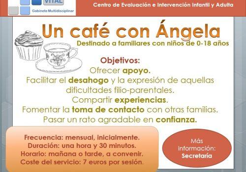 Publi un café con Ángela