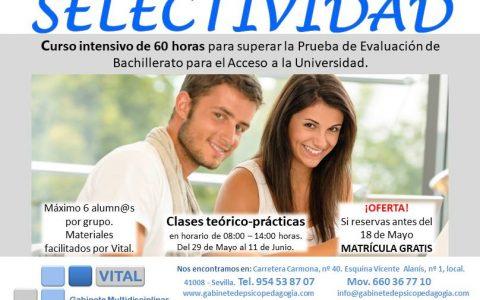 Prueba de Evaluación de Bachillerato para el acceso a la universidad y pruebas de admisión