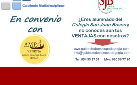 CONVENIO AMPA SAN JUAN BOSCO